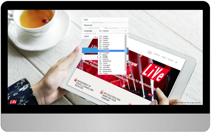 LiVe ist in mehr als 40 Sprachen erhältlich - AScorpi GmbH