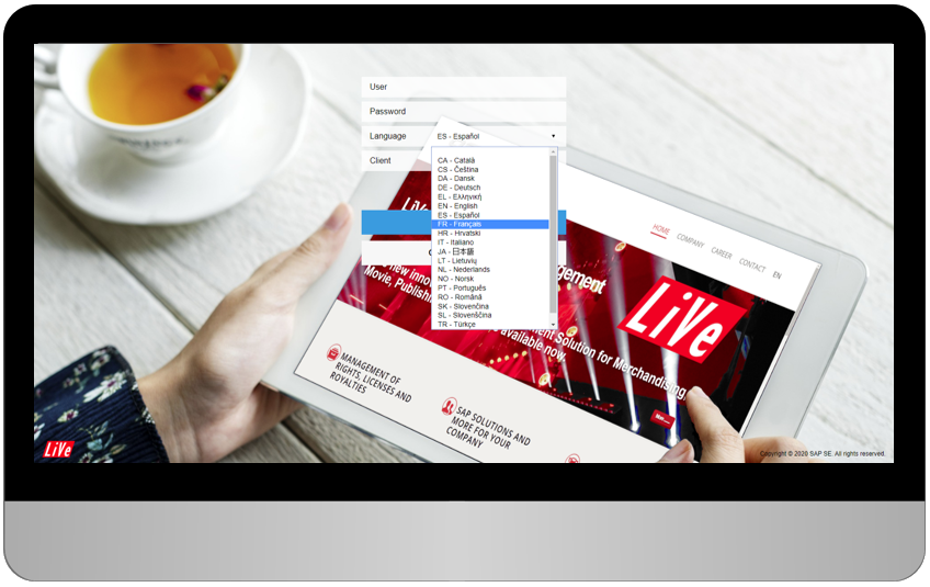 LiVe is available in more than 40 languages - AScorpi GmbH